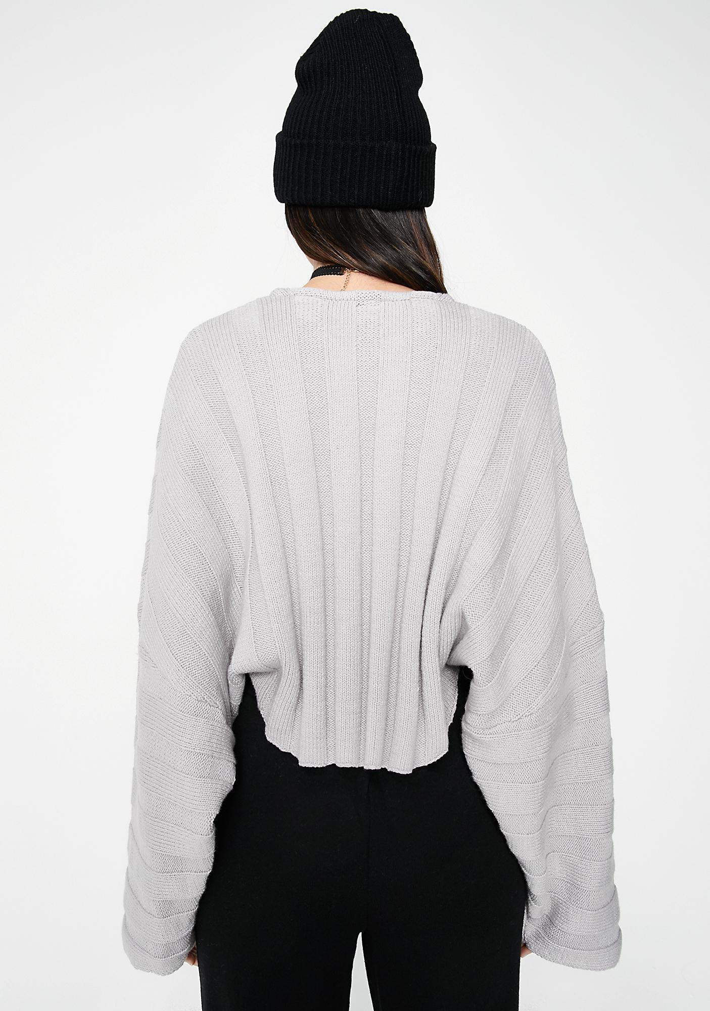 Smoke Pass That Crop Sweater
