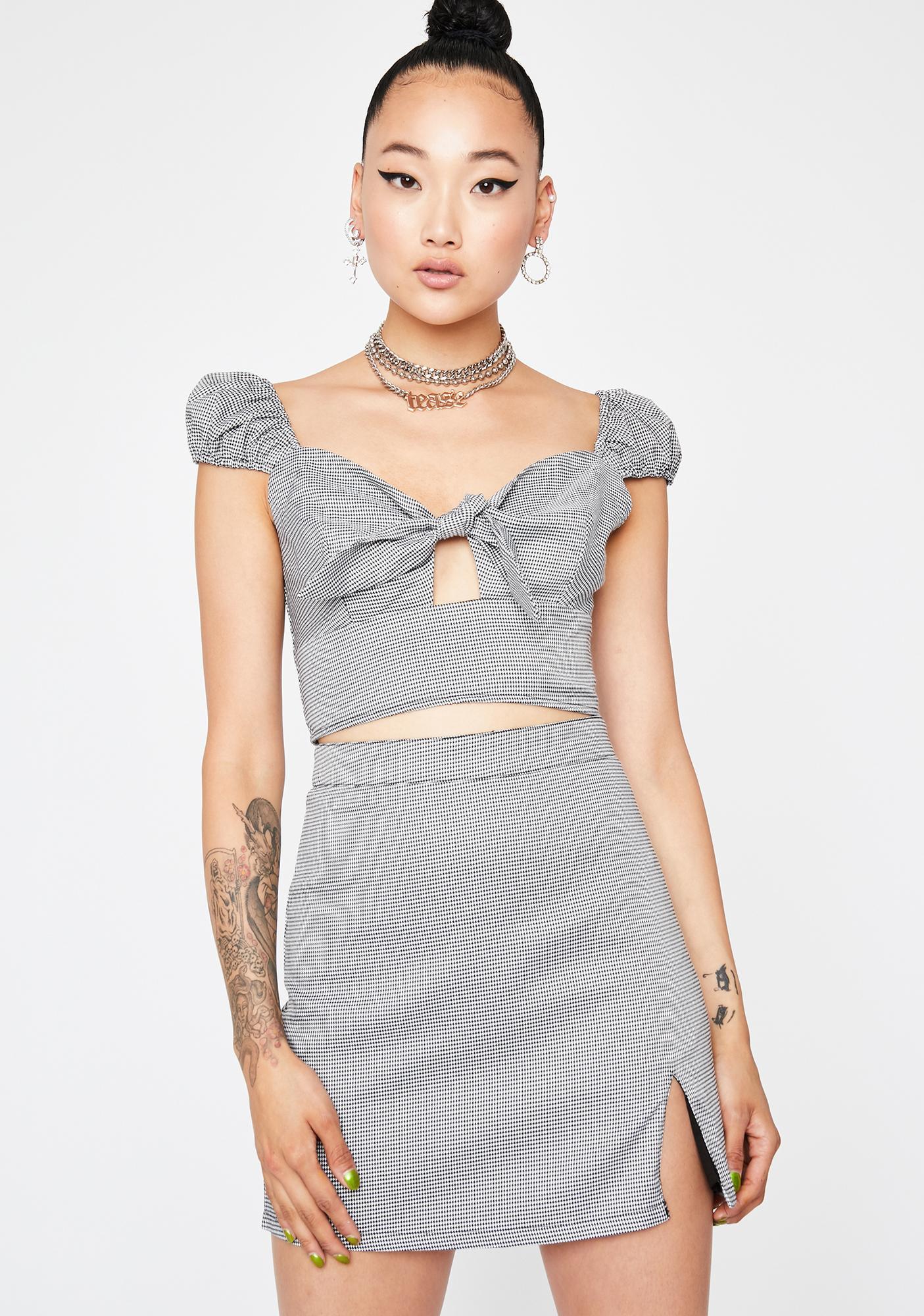 Dapper Diva Mini Skirt