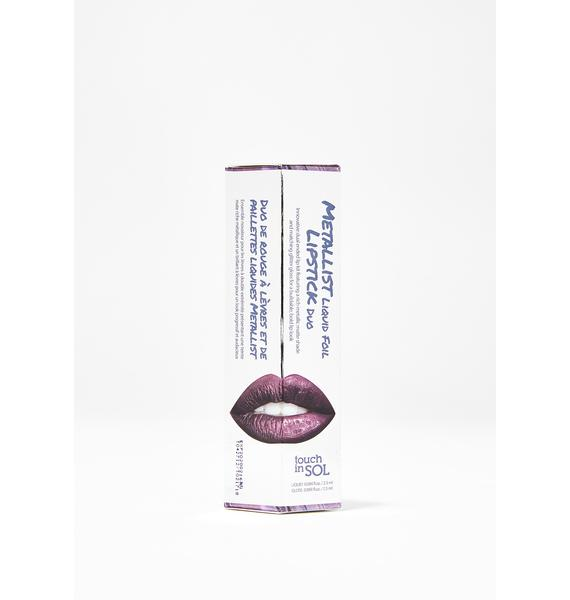 Touch In Sol Lucy Metallist Liquid Lipstick Duo