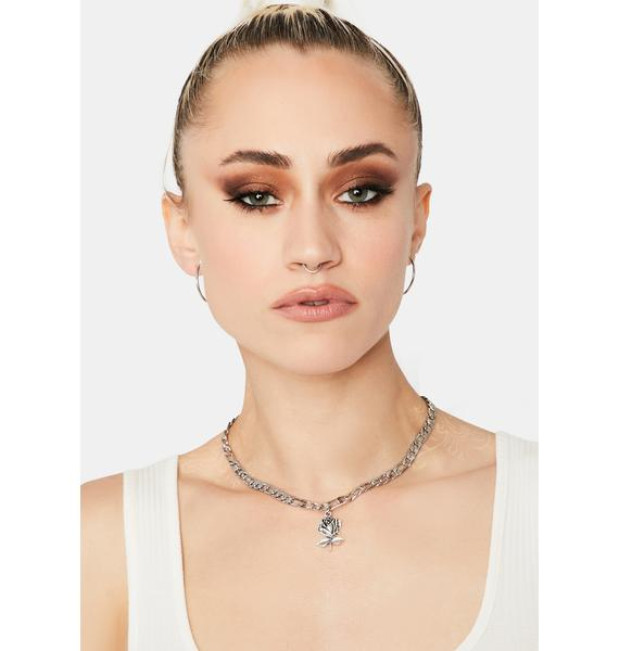 Worth Your Time Charm Necklace