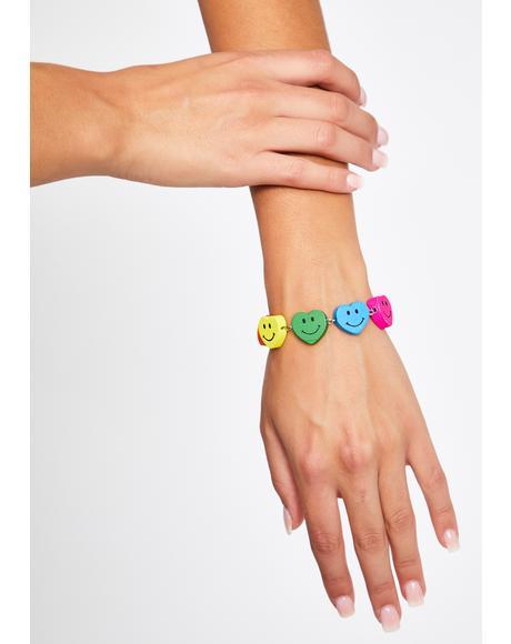 All Smiles Charm Bracelet