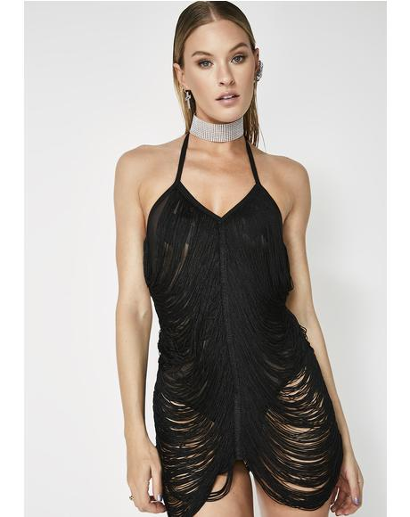 Too Risque Draped Bodysuit