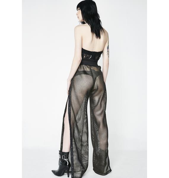 Kiki Riki Schemin' Demon Fishnet Trousers