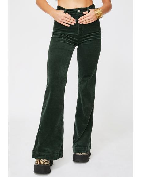Ivy Eastcoast Corduroy Flare Pants