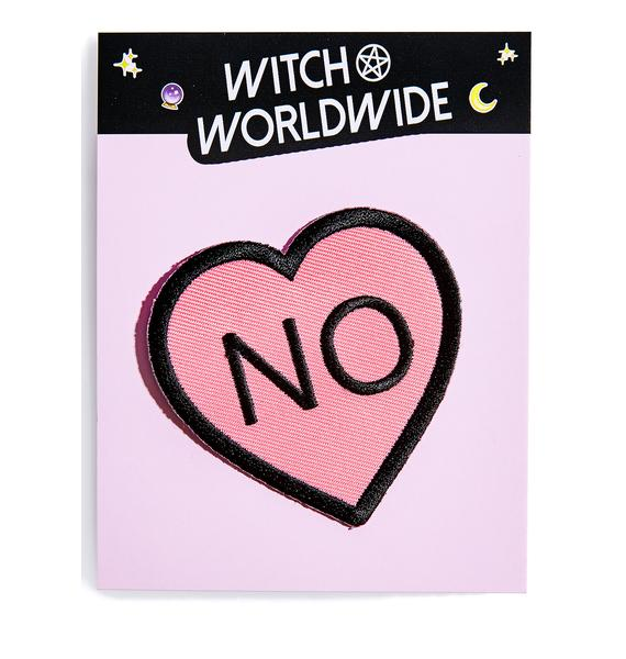 Witch Worldwide No Heart Patch