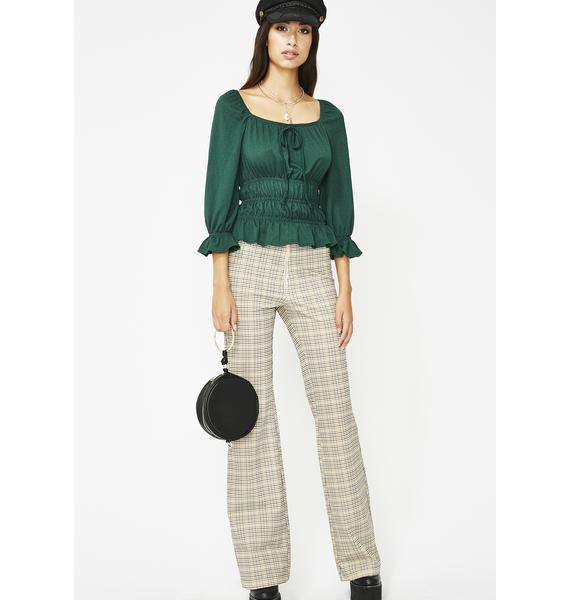Kush Breezy Babe Ruched Top