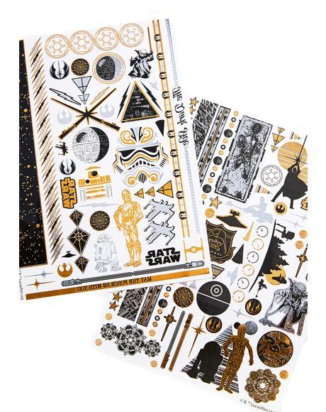 Star Wars Tattoo Set