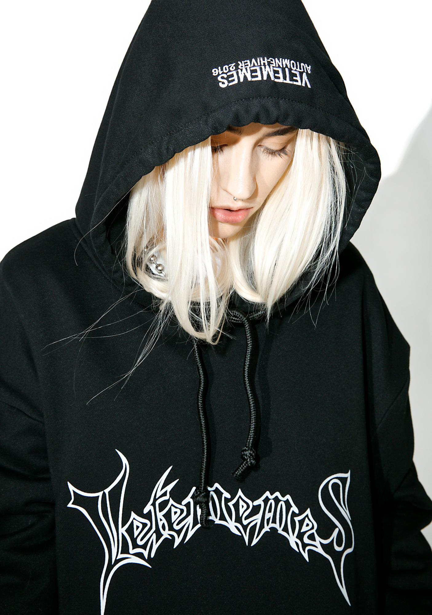 Vetememes Death Metal Hoodie