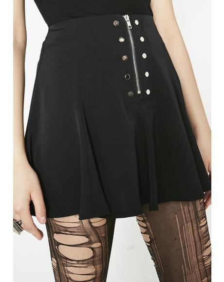 Cool Safety Chiffon Skirt