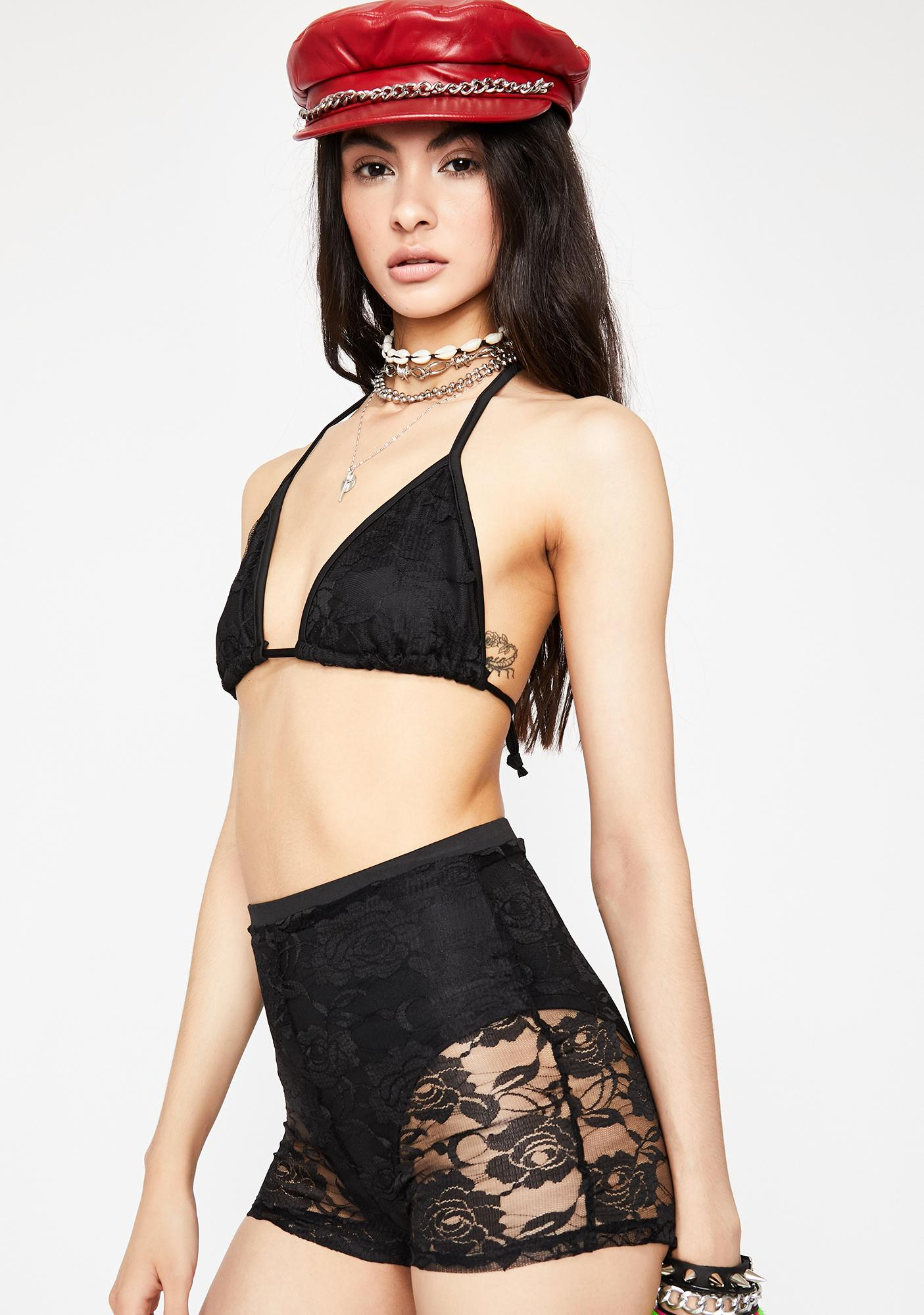 Night Coquette Affair Lace Set
