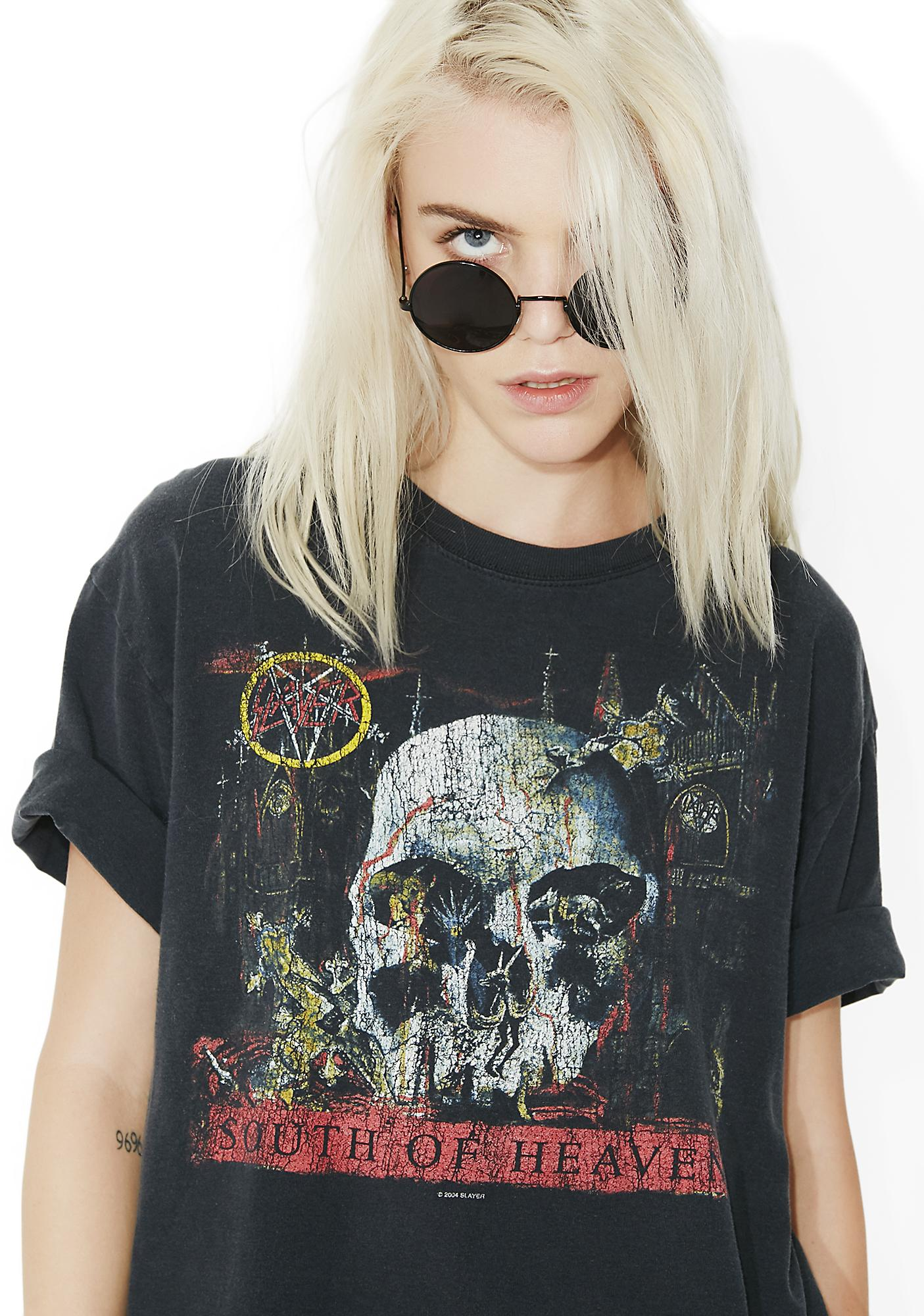 Vintage Slayer South Of Heaven Tee