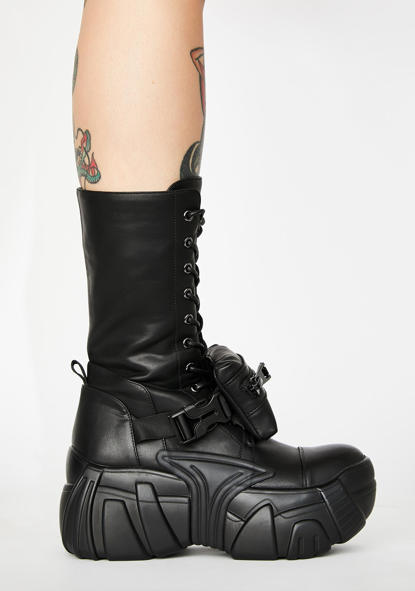 Poster Grl Worth The Hype Utility Boots