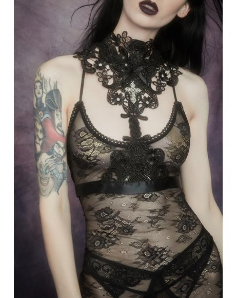 Metaphysical Moment Lace Harness
