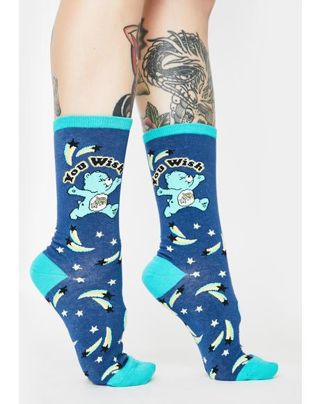 You Wish Crew Socks