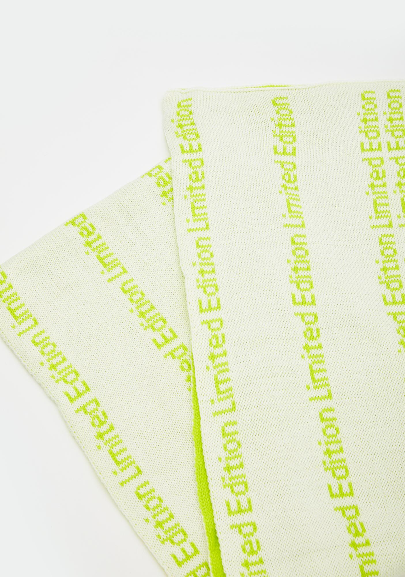 Limited Edition Neon Scarf