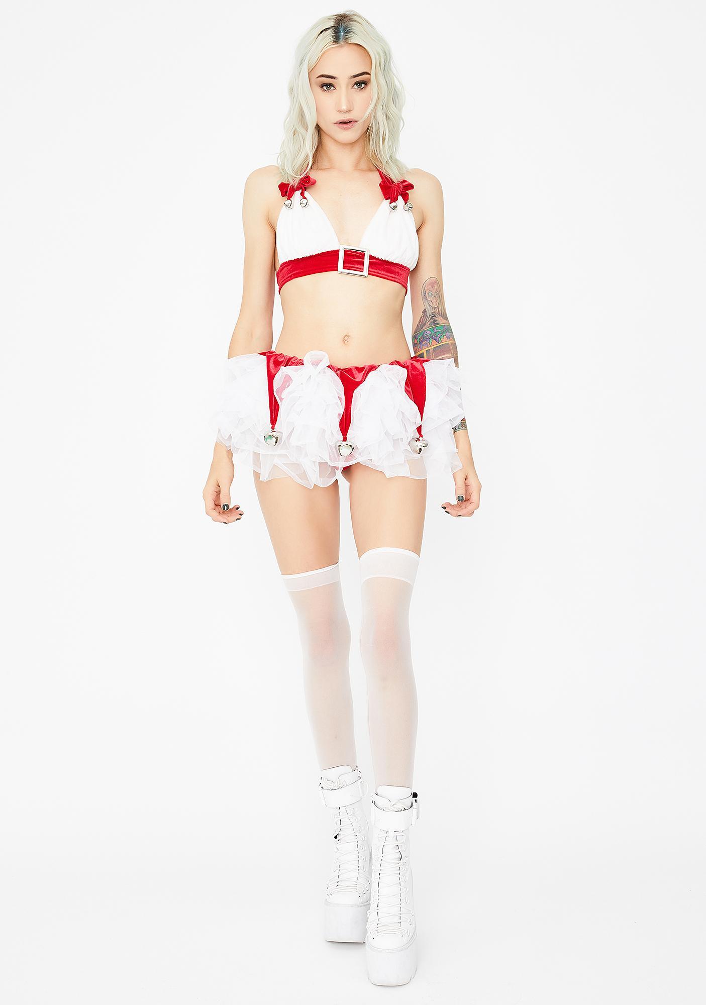 J Valentine Jingle Bell Skirt Set