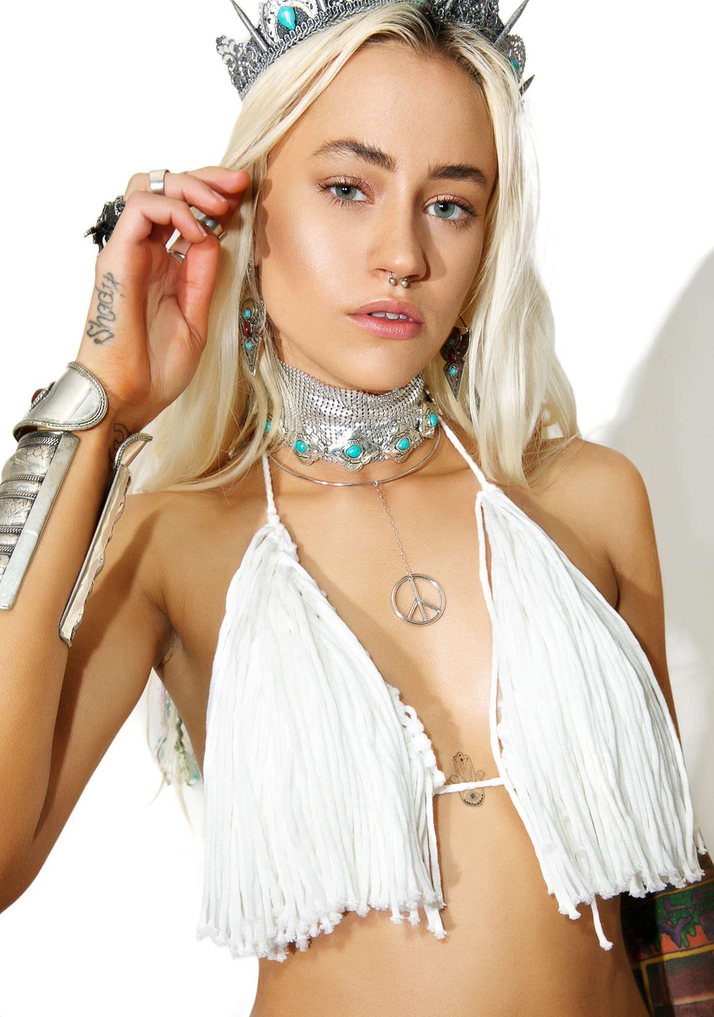 Love And Light The Label Festival Junkie Bralette