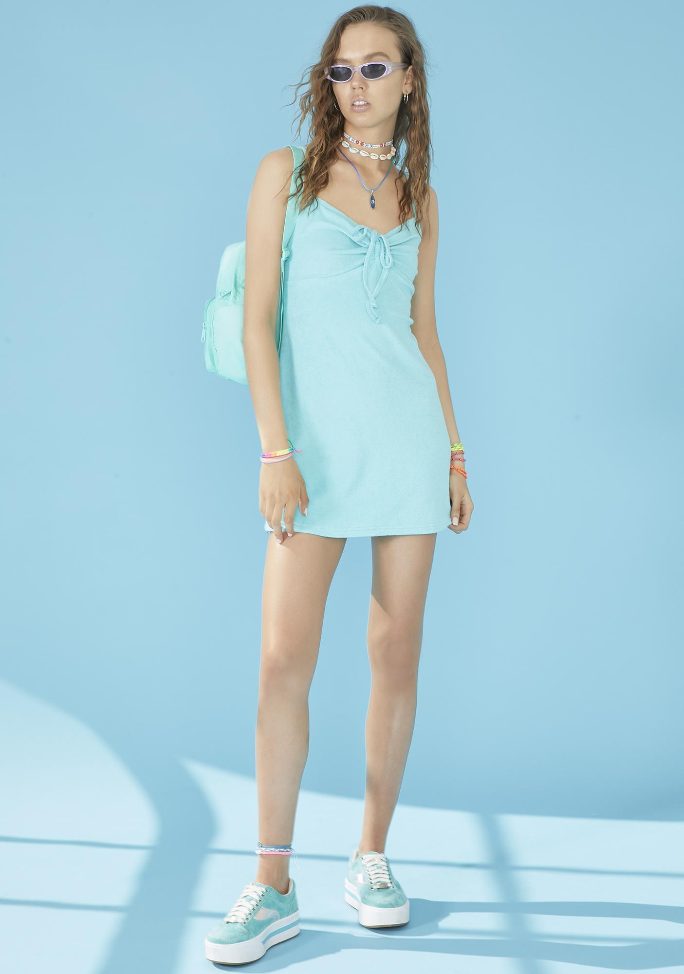 dELiA*s by Dolls Kill Just Add Water Terry Cloth Dress