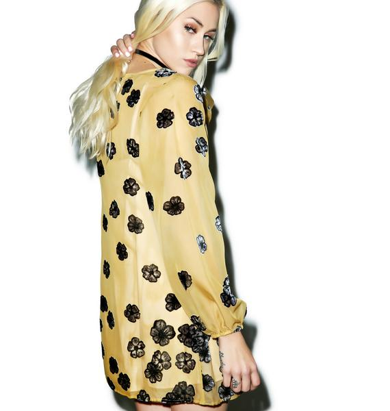 For Love & Lemons Sierra Mini Dress