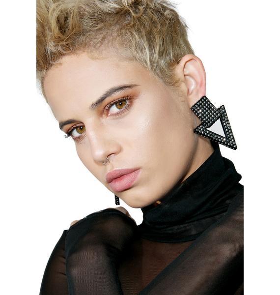 Downfall Oversized Earrings