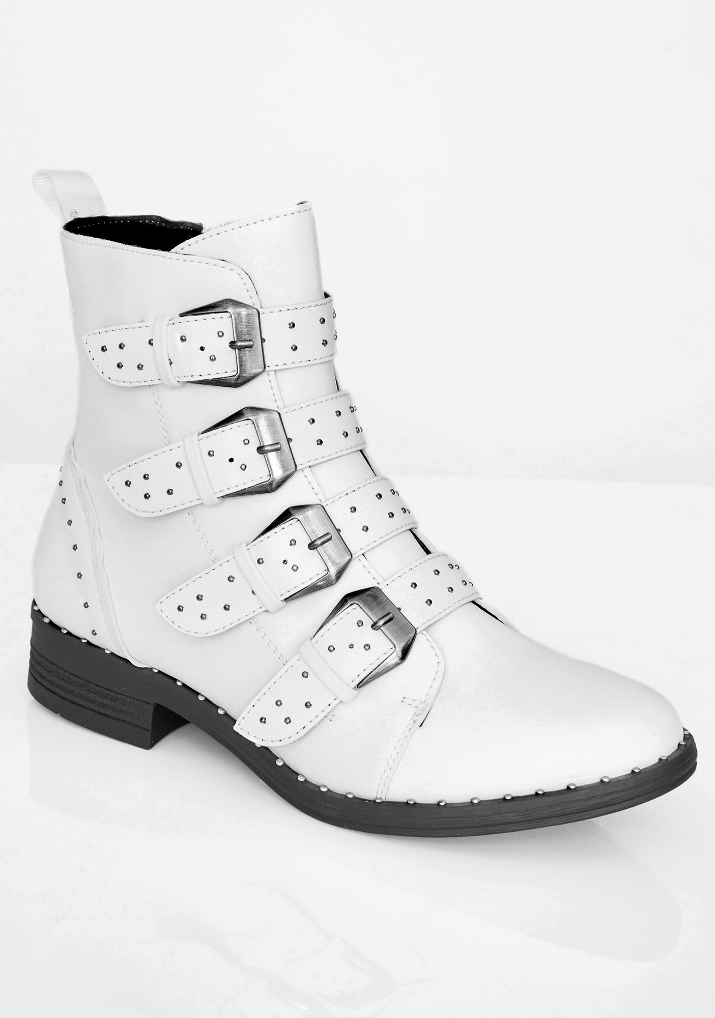 Mad March Buckle Boots