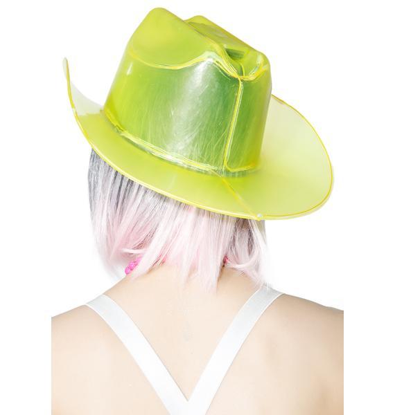 Gold Light It Up Cowboy Hat