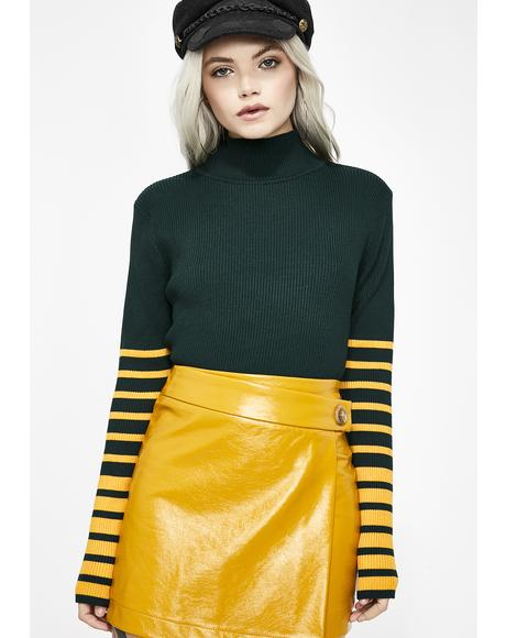 Take Charge Turtleneck Sweater