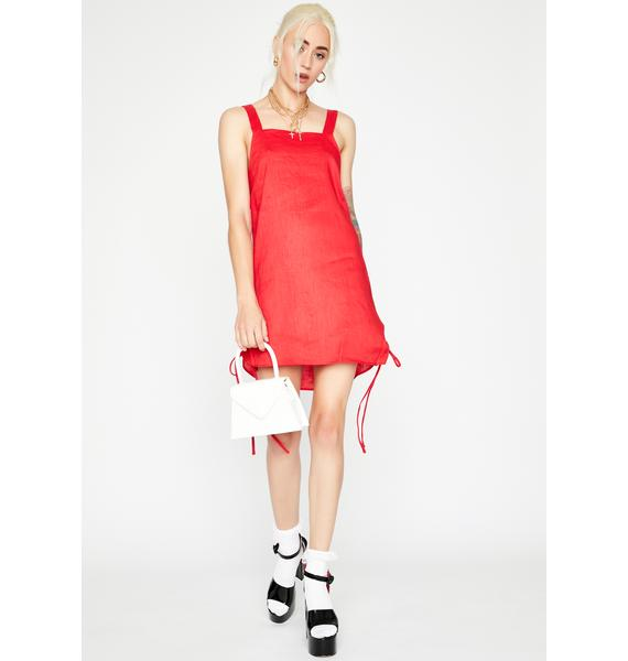 Love Meet At The Park Ruched Dress
