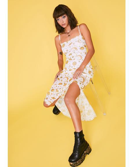 Show Me A Sign Maxi Dress