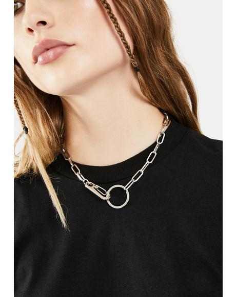 On The Hook Chain Necklace