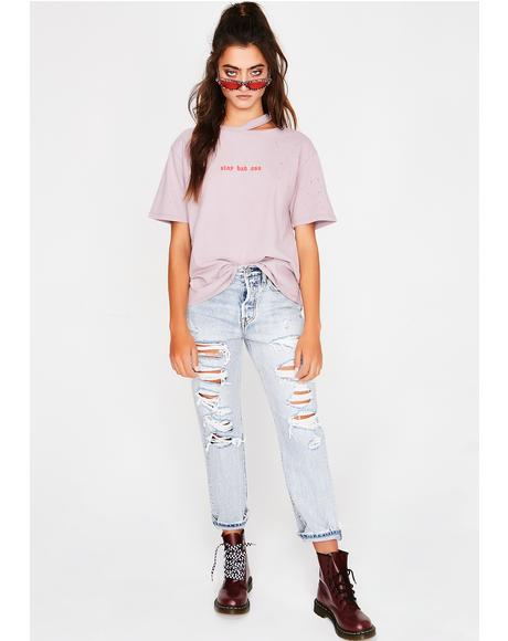 Do You Boo Distressed Tee