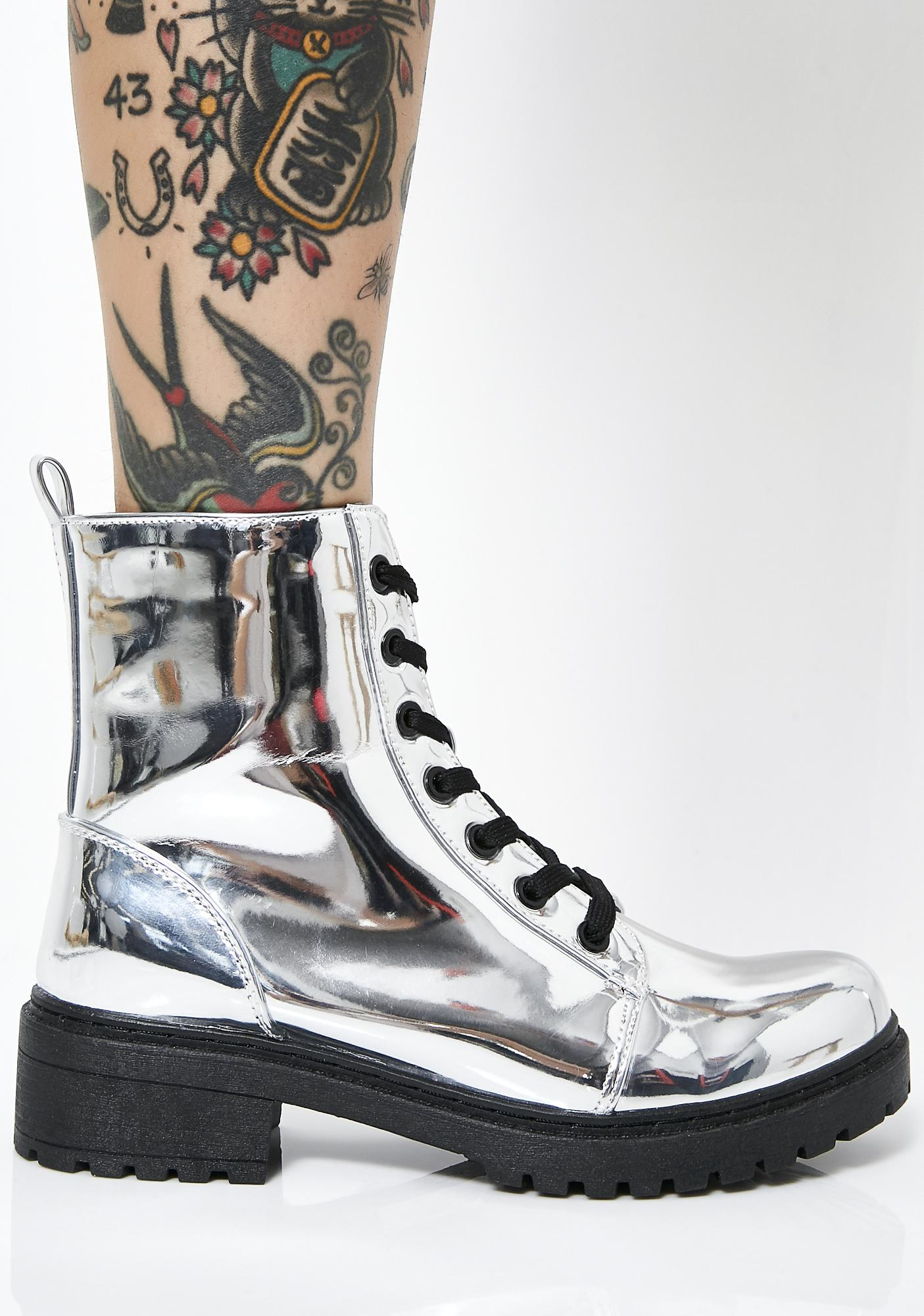 Lunar Landings Combat Boots