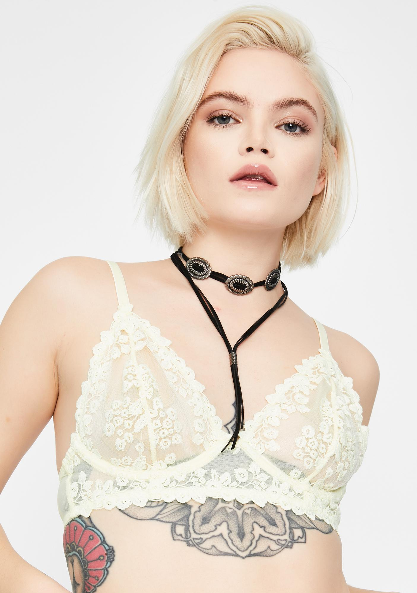 Free People Veronica Lace Underwire Bra