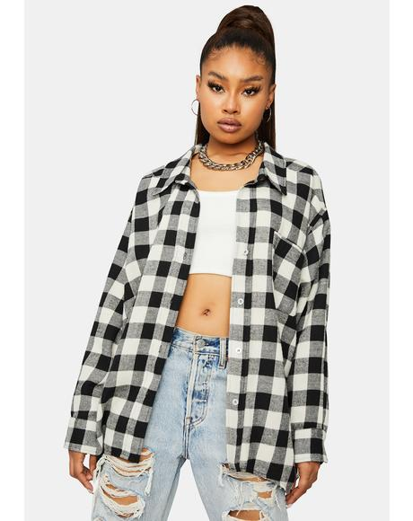 Need It Grunge Flannel Shirt