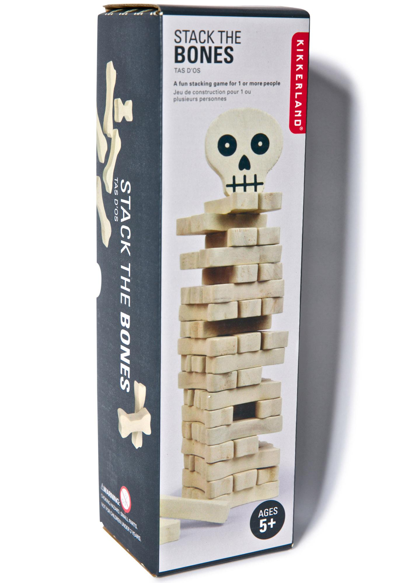 Stack the Bones Game   Dolls Kill