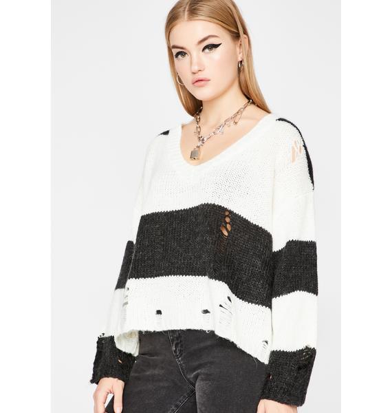 Troubled Rebel Knit Sweater
