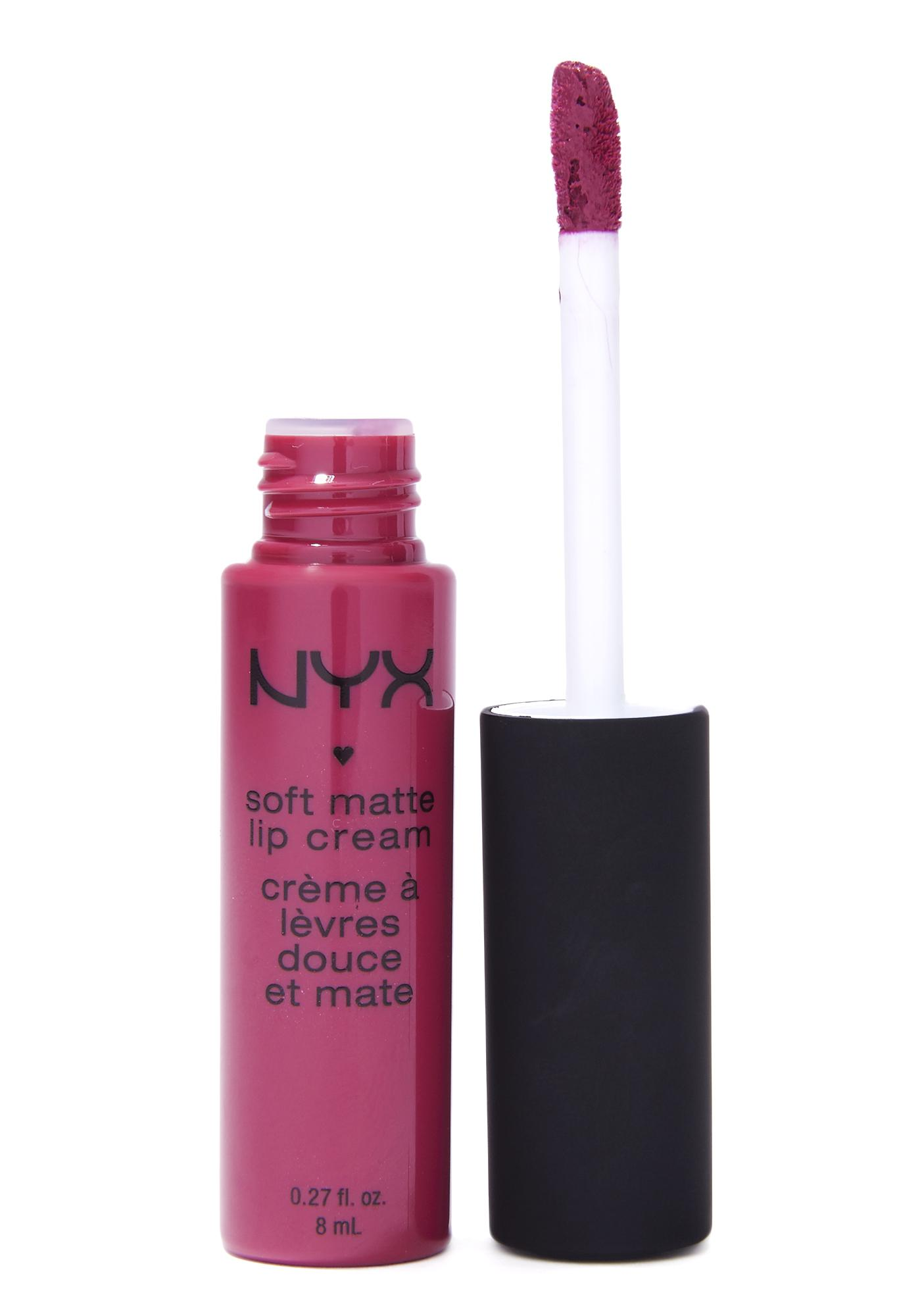 NYX Prague Soft Matte Lip Cream