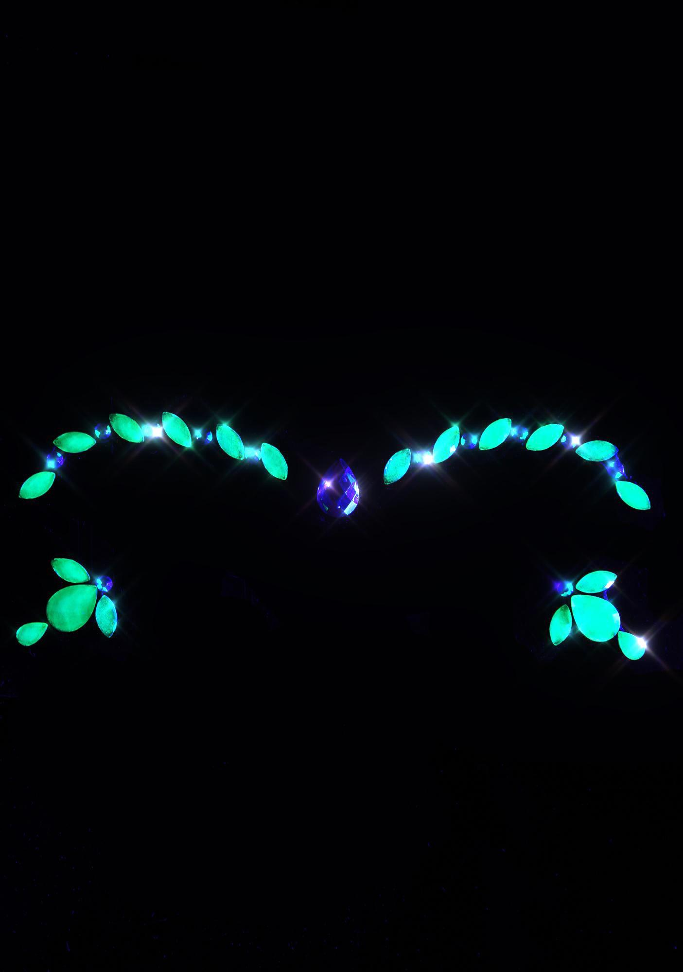 Lunautics Midori UV Cosmic Crystals