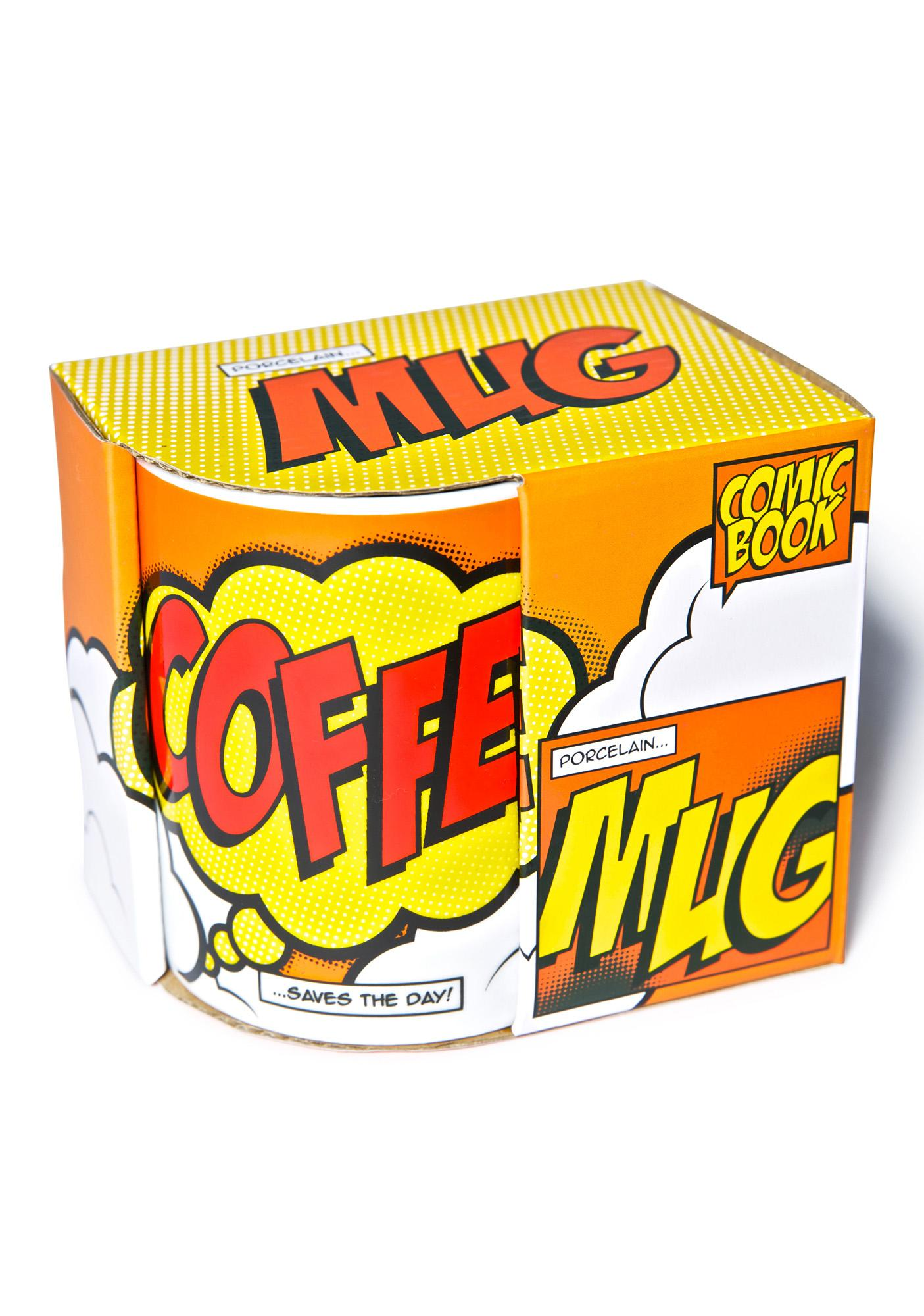 Coffee Comic Book Mug