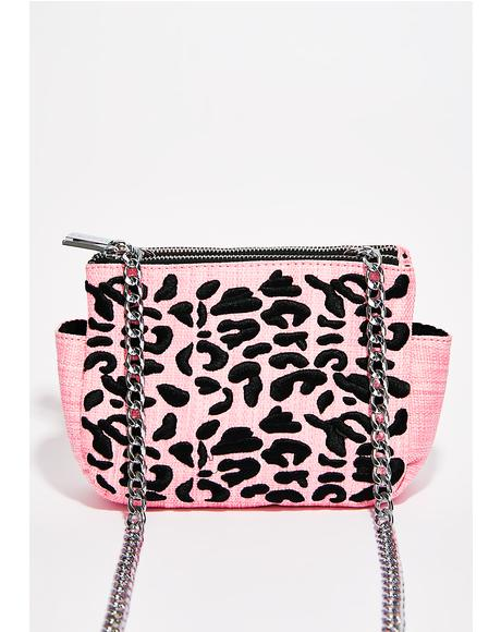 Leopard Picnic Crossbody Bag