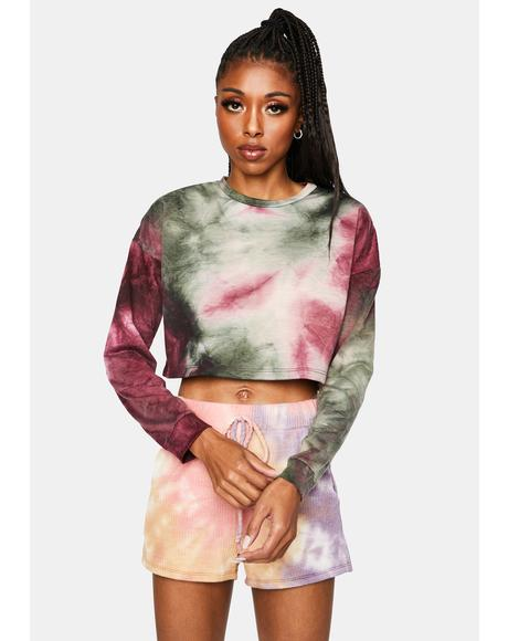 Brunch Tie Dye Top