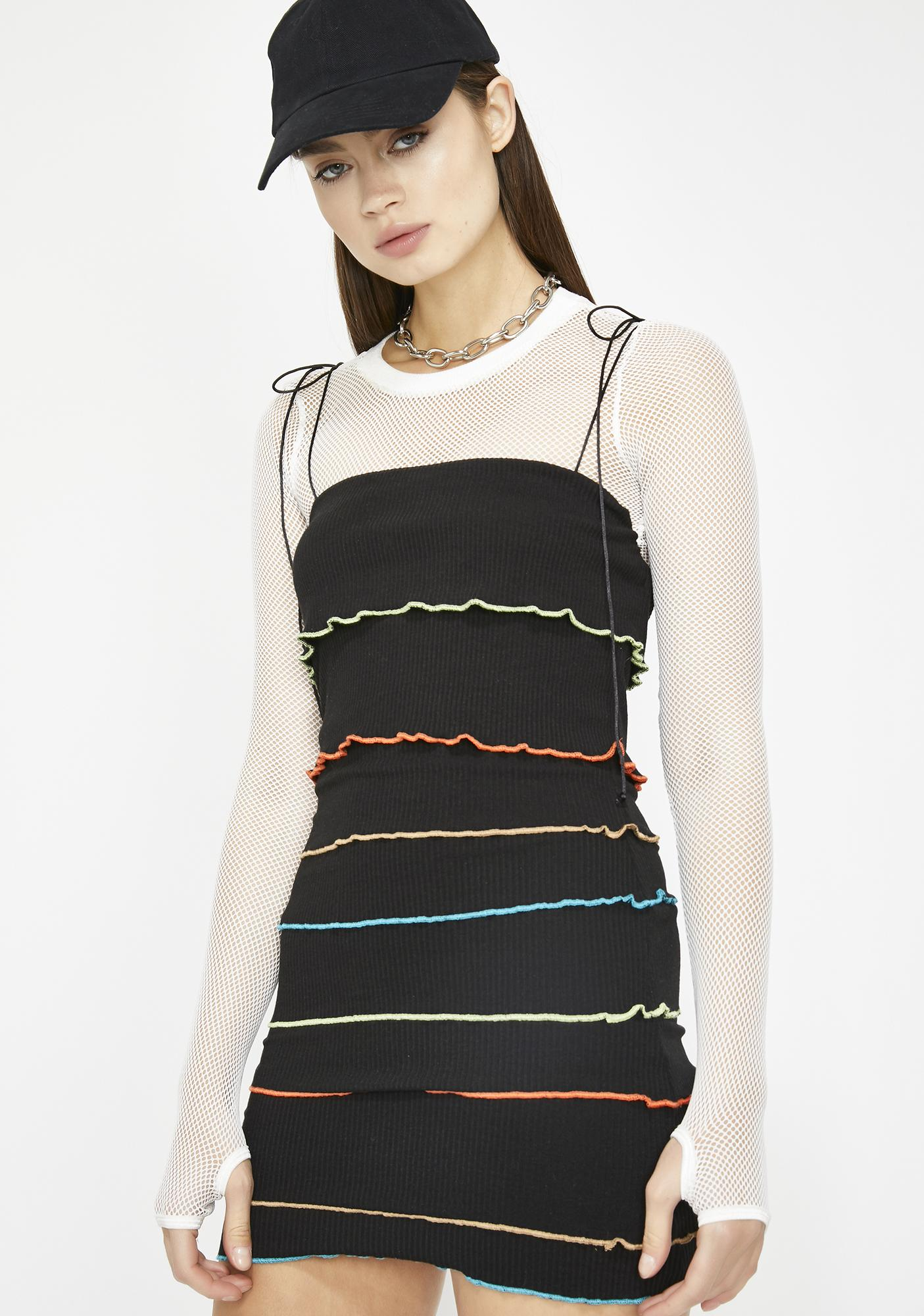 Know The Ropes Mini Dress