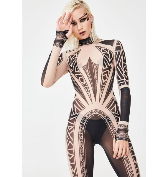 Club Exx Sharpshooter Mesh Catsuit