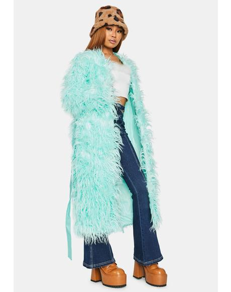 Free For All Shaggy Fur Coat