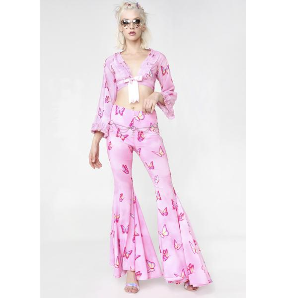 Sugar Thrillz Pampered Pixie Butterfly Flares