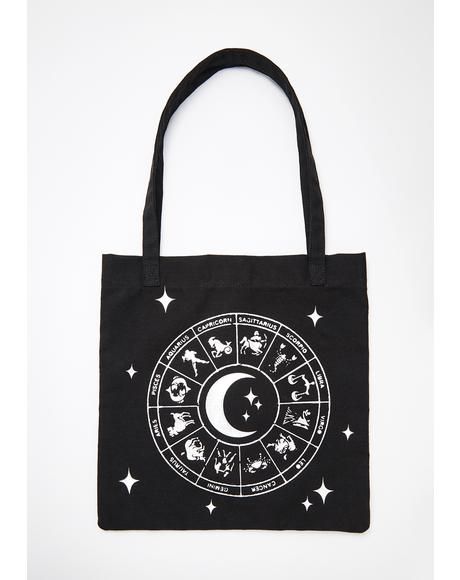 Star Child Tote Bag