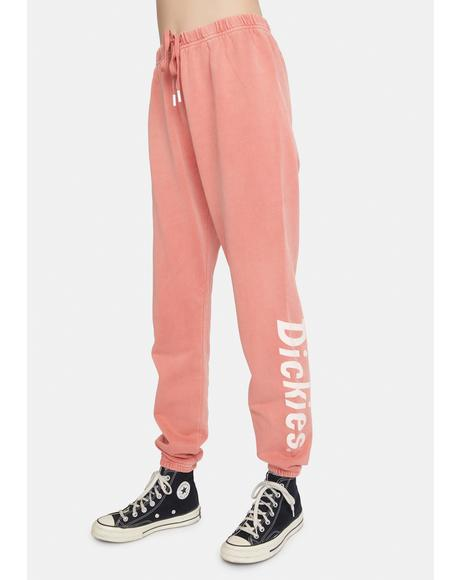Terracotta Relaxed Sweatpants