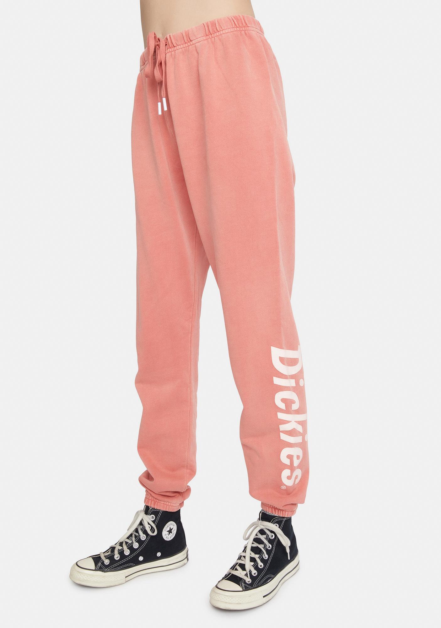 Dickies Girl Terracotta Relaxed Sweatpants