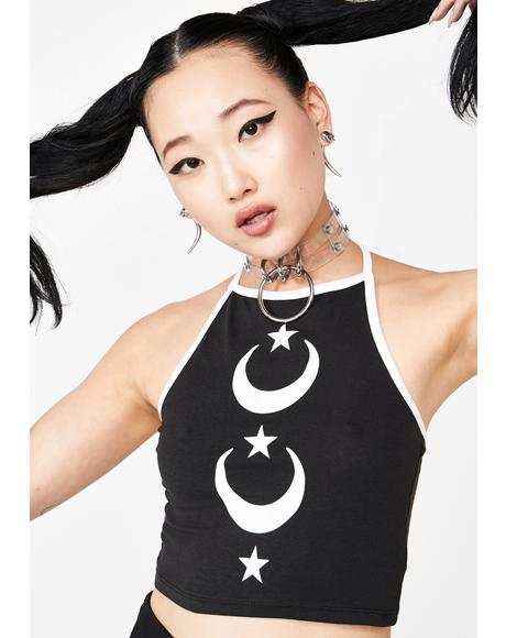 Moon Star Halter
