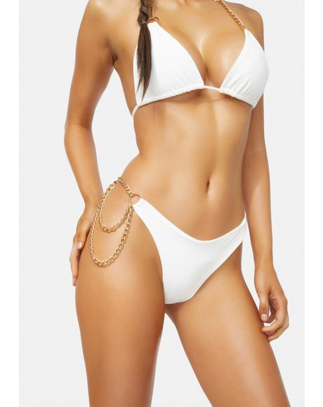 Pure VIP Only Chain Bikini Set